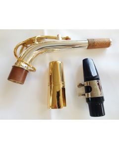 JUPITER - ALTO SAXOPHONE SILVER PLATED WITH GOLD LACQUER KEYS