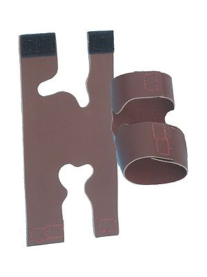 D'ANDREA GEAR - TAN /BROWN LEATHER VALVE PROTECTOR