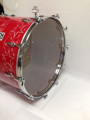 Herch Tambora Red with star design