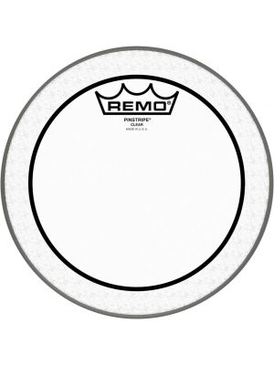 REMO PINSTRIPE CLEAR BATTER DRUMHEAD 10