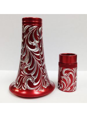 CLARINET BELL AND BARREL - RED