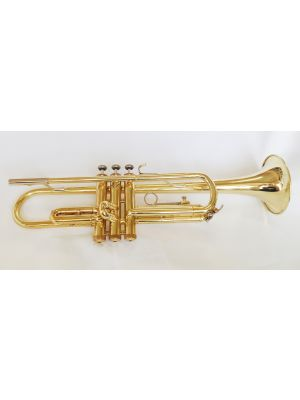 USED BUNDY LACQUER TRUMPET