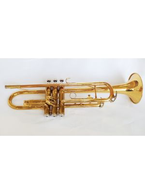 USED - KING LACQUER TRUMPET
